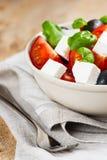 Greek salad in bowl Royalty Free Stock Photo