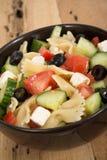 Greek salad bowl Stock Images