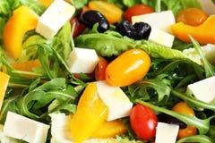 Greek salad closeup Royalty Free Stock Image