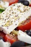 Greek salad. royalty free stock photo