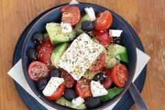 Greek salad. Stock Photos