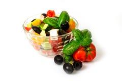 Greek Salad Dressing Stock Photography