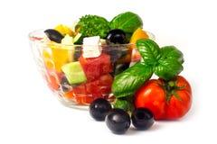 Greek Salad Dressing Stock Photo