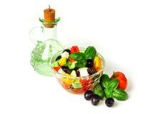 Greek Salad Dressing Royalty Free Stock Photo