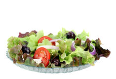 Greek Salad with Feta Cheese Stock Image