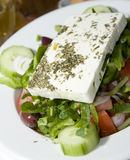 greek salad feta cheese Royalty Free Stock Image