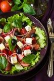 Greek salad Royalty Free Stock Photography