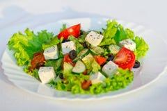 Greek salad horizontal Stock Images