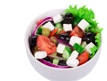 Greek salad. Stock Photos