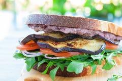 Greek sandwich Stock Image