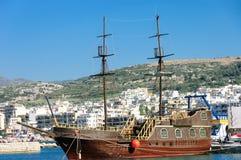 Greek schooner Stock Photo