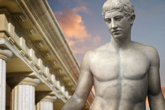 Greek Sculpture Royalty Free Stock Photo
