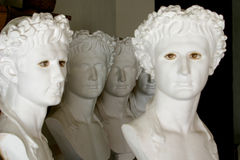 Greek sculptures Stock Photos