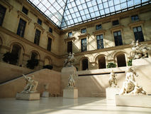 Greek Sculptures in Louvre Royalty Free Stock Photo