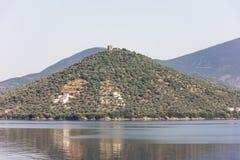Greek sea cost Royalty Free Stock Photos