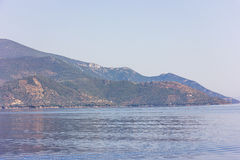 Greek sea cost Royalty Free Stock Photography