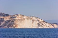 Greek sea cost Stock Photo