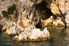 Greek sea cost Stock Image