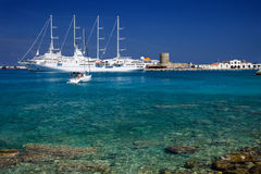Greek sea Royalty Free Stock Photos