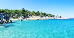 Greek sea Royalty Free Stock Images