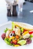 Greek Seafood Salad Stock Image