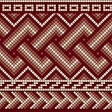 Greek seamless mosaic Royalty Free Stock Photo