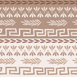 Greek seamless pattern Stock Photography