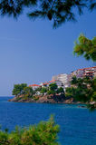 The Greek seaside landscape. Royalty Free Stock Photography