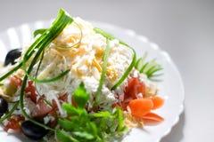 Greek shepherd's salad Stock Images