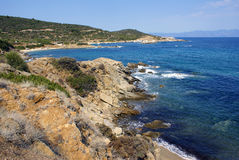 Greek Shoreline Stock Images