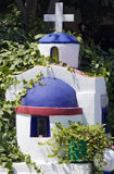 Greek small shrine Stock Photos
