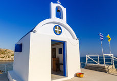 Greek small temple Stock Images