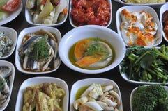 Greek snacks Royalty Free Stock Image