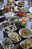 Greek snacks Stock Image