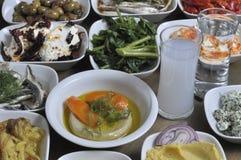 Greek snacks Stock Images