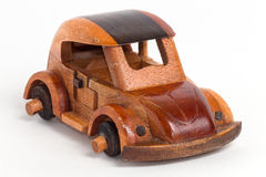 Greek souvenir - wooden car Stock Photos