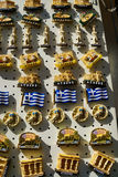 Greek souvenirs in Athens ,Greece Stock Images