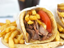 Free Greek Souvlaki Royalty Free Stock Photo - 12670725