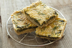Greek spinach pie Stock Image