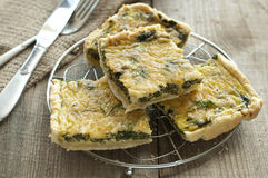 Greek spinach pie Royalty Free Stock Photography