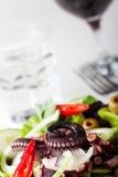 Greek squid salad Stock Images