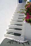 Greek Stairs Royalty Free Stock Photography