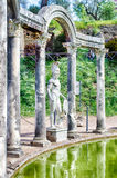 Greek Statue of Ares, inside Villa Adriana, Tivoli Stock Images