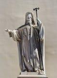 Greek statue. Athence university saint Royalty Free Stock Image