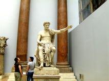 Greek statue. Pergamon Museum in Berlin Royalty Free Stock Photo