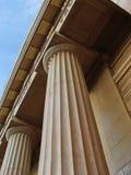 Greek style. Greek columns stock photo