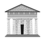 Greek style in architecture Royalty Free Stock Images