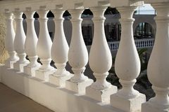 Greek style balustrade Stock Image