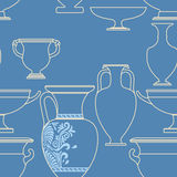 Greek style seamless national pattern Royalty Free Stock Image