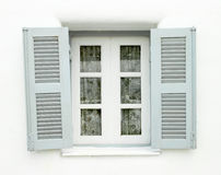 Greek Style windows Royalty Free Stock Photos